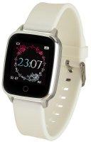 5903246286403 Garett Damskie Smartwatch Garett Lady Viki biały - duże 1