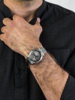 automatyczny Zegarek męski Orient Classic Classic Open Heart RA-AG0029N10B - duże 3