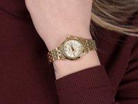 Citizen EQ0603-59PE zegarek złoty klasyczny Elegance bransoleta