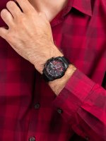 czarny smartwatch Casio EDIFICE Premium EQB-1000HR-1AER - duże 3