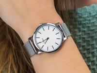 damski Zegarek fashion/modowy Timex Metropolitan TW2R36200 bransoleta - duże 4