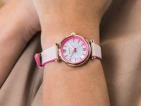 damski Zegarek klasyczny Fossil Carlie ES4833 pasek - duże 4