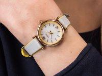 damski Zegarek klasyczny Fossil Carlie ES4834 pasek - duże 4