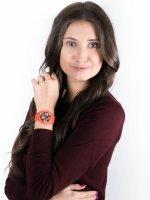 fashion/modowy Zegarek czerwony ICE Watch Ice-Flower ICE.017577 ICE Flower Floral passion Rozm.M - duże 2