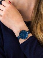 fashion/modowy Zegarek niebieski Guess Pasek W0979L6 - duże 9