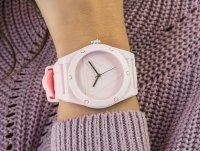 fashion/modowy Zegarek różowy Guess Pasek W0979L5 - duże 4