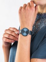fashion/modowy Zegarek srebrny Bering Classic 14539-308 - duże 3