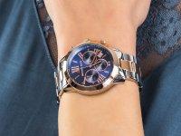 fashion/modowy Zegarek srebrny Michael Kors Bradshaw MK6389 BRADSHAW - duże 4