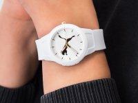 klasyczny Zegarek biały Puma Reset P1013 - duże 4