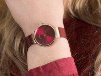 klasyczny Zegarek różowe złoto Bering Classic 14531-363 - duże 4