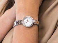 klasyczny Zegarek różowe złoto DKNY Bransoleta NY2827 - duże 4