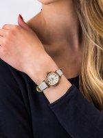 klasyczny Zegarek różowe złoto Fossil Carlie ES4834 CARLIE MINI - duże 3