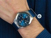klasyczny Zegarek srebrny Traser P59 Classic TS-108216 P59 Essential M Blue - duże 4