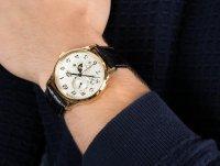 klasyczny Zegarek złoty Orient Classic RA-AK0002S10B - duże 4
