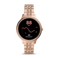 zegarek Fossil Smartwatch FTW6073 kwarcowy damski Fossil Q GEN 5E SMARTWATCH - ROSE GOLD