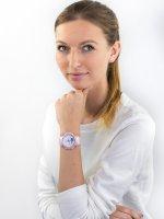 kwarcowy Zegarek damski Casio Baby-G STEP TRACKER BGS-100SC-4AER - duże 2