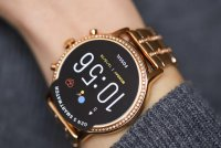 zegarek Fossil Smartwatch FTW6035 kwarcowy damski Fossil Q GEN 5 SMARTWATCH JULIANNA HR ROSE GOLD
