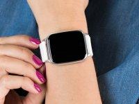 kwarcowy Zegarek damski Garett Damskie Smartwatch Garett Lady Viki biały 5903246286403 - duże 4