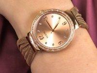 kwarcowy Zegarek damski Guess Bransoleta W1083L3 - duże 4
