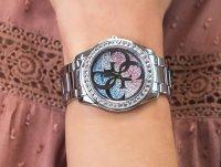 kwarcowy Zegarek damski Guess Bransoleta W1201L1 - duże 4