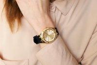 kwarcowy Zegarek damski Guess Pasek GW0034L1 - duże 8