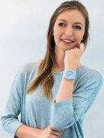 kwarcowy Zegarek damski Guess Pasek W0979L6 - duże 2