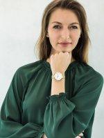 kwarcowy Zegarek damski Obaku Denmark Bransoleta V211LXGIMG - duże 2