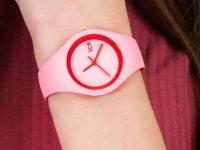 kwarcowy Zegarek dla dzieci ICE Watch Ice-Duo ICE duo Pink red rozm. S ICE.001491 - duże 4