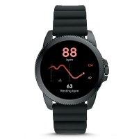 zegarek Fossil Smartwatch FTW4047 kwarcowy męski Fossil Q GEN 5E SMARTWATCH - BLACK SILICONE