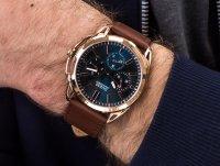 kwarcowy Zegarek męski Guess Pasek W1217G2 - duże 4