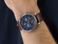 kwarcowy Zegarek męski Tommy Hilfiger Męskie 1710393 - duże 4