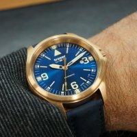Traser TS-108074 zegarek brązowy klasyczny P67 Officer Pro pasek