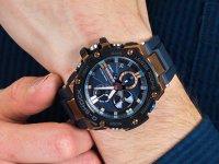 niebieski smartwatch Casio G-SHOCK G-STEEL GST-B100G-2AER - duże 4