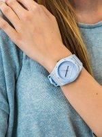 niebieski Zegarek Guess Pasek W0979L6 - duże 3