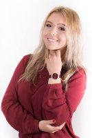 różowe złoto Zegarek Bering Classic 14531-363 - duże 2
