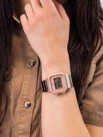 różowe złoto Zegarek Casio VINTAGE Maxi B650WC-5AEF - duże 3
