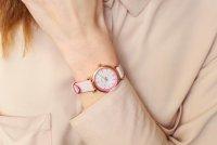 różowe złoto Zegarek Fossil Carlie ES4833 - duże 10