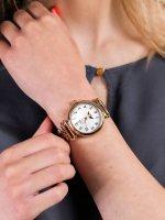 różowe złoto Zegarek Timex Model 23 TW2T89400 - duże 3