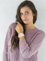 różowy Zegarek Guess Pasek W0979L5 - duże 2