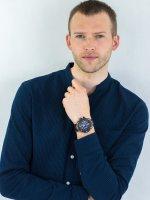smartwatch niebieski sportowy Casio G-SHOCK G-STEEL GST-B100G-2AER pasek - duże 2