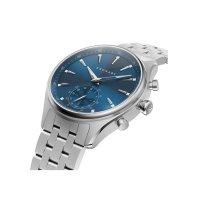 smartwatch srebrny klasyczny Kronaby Sekel S3119-1 bransoleta - duże 2