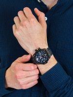 solar smartwatch męski Casio G-SHOCK G-STEEL GST-B100G-2AER - duże 3