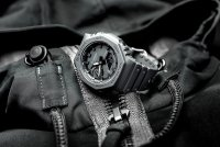 G-Shock GA-2100-1A1ER G-Shock sportowy zegarek czarny