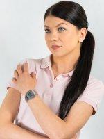 sportowy Zegarek srebrny Casio VINTAGE Maxi A168WEM-7EF MIRROR FACE - duże 2