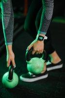 Garett 5903246286403 Smartwatch Garett Lady Viki biały Damskie sportowy zegarek srebrny