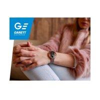 Garett 5903246287189 Smartwatch Garett Women Nicole RT różowy stalowy Damskie sportowy zegarek różowe złoto
