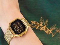 sportowy Zegarek złoty Nixon SIREN MILANESE A1272-502 WHERE BEACH MEETS STREET - duże 4
