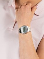 srebrny Zegarek Casio VINTAGE Maxi A168WEM-7EF - duże 3