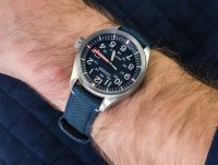 srebrny Zegarek Citizen Ecodrive AW5000-16L - duże 4
