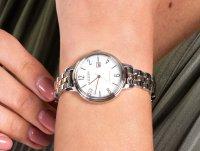 srebrny Zegarek Citizen Elegance EW2446-81A - duże 4